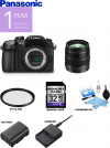Panasonic Lumix DMC-GH4 4K Mirrorless Micro Four Thirds Digital Camera Kit with 12-35mm f/2.8 ASPH. Lens USA