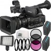 Sony PXW-X200 XDCAM Handheld Camcorder 11pc Accessory Kit. Includes 2 Replacement BPU-90 Batteries + 3PC Filter Kit (UV-CPL-FLD) + More