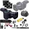 Canon XC10 4K Professional Camcorder + 64GB CFast 2.0 G Series Memory Card x3 + Soft Carrying Case & Rode Microphone Bundle