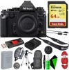 Nikon Df DSLR Camera (Black/Silver) - Pro Travel Bundle
