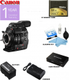 Canon Cinema EOS C300 Mark II Camcorder Body (PL Lens Mount) with Lexar 32GB CF Card | Card Reader & Cleaning Kit