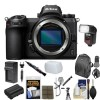 Nikon Z6 Mirrorless Digital Camera (Body Only) with Backpack   Flash   Battery   Charger   Kit USA