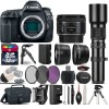 Canon EOS 5D Mark IV Camera   50mm   500mm - 4 Lens Kit   32GB