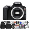 Canon EOS Rebel SL3 DSLR Camera with 18-55mm Lens (Black) & 64GB Bundle