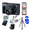 Canon PowerShot SX730 HS Digital Camera (Black) with 64GB SD Cards & Battery Bundle
