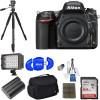Nikon D750 FX-Format Digital SLR Body Only Camera with Pro Accessory Kit