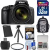 Nikon Coolpix P900 Wi-Fi 83x Zoom Digital Camera with 32GB Memory Card & More Accessories