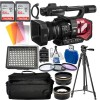 Panasonic AG-DVX200 4K Handheld Camcorder NTSC/PAL with Starter Accessory Bundle
