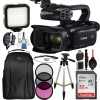 Canon XA45 Professional UHD 4K Camcorder with 32GB Accessory Bundle