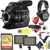 Canon Cinema EOS C300 Mark II Camcorder Body (PL Lens Mount) with Sandisk 256GB | Rode Mic | Sony Headphones & More Essential Package