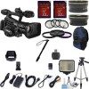 CANON XF300 HIGH DEFINITION PROFESSIONAL CAMCORDER EXCLUSIVE  BUNDLE