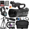 JVC GY-HM180 Ultra HD 4K Camcorder |SanDisk 64GB MC, 72� Professional Tripod, Tripod Dolly, Professional Carrying Case, and More