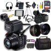 Canon XC15 4K Professional Camcorder with Sandisk 64GB & Headphone Package