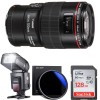 Canon EF 100mm f/2.8L Macro IS USM Additional Accessories Kit