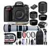 Nikon D750 24.3MP 1080P DSLR Camera w/ Wi-Fi & GPS Ready + 5 Lens DELUXE BUNDLE