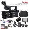 Canon XA15 Compact Full HD Camcorder with SDI, HDMI, and Composite Output with Additional Accessories
