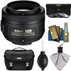 Nikon DX Af-S Nikkor Lens - 35mm - f/1.8 G - Nikon Case - 3 UV/CPL/ND8 Filters - Kit