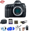 Canon EOS 5D Mark IV DSLR Body With Deluxe Accessory Bundle Kit