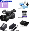 Panasonic AG-AC30 Full HD Camcorder w/ Touch Panel LCD Viewscreen and Built-In LED Light USA