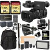 PANASONIC HC-X1000 4K-60P/50P Camcorder w/ High-Powered 20x Optical Zoom & Professional Functions Accessory Bundle