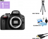Nikon DSLR D3300 Camera Body Only W/ Additional Accessories - Black USA