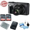 Canon PowerShot SX720 HS Digital Camera w/ 2x 16GB Memory Cards & Cleaning Kit