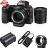 Nikon Z7 Mirrorless Digital Camera with 24-70mm Lens and FTZ Adapter Kit