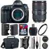 Canon EOS 5D Mark IV Full Frame 30.4MP Camera + 24-105mm f/4L IS II - 32GB Kit, Black