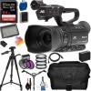 JVC GY-HM180 Ultra HD 4K Camcorder |SanDisk 64GB MC, Tripod Dolly, Professional Carrying Case, and More