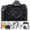 Nikon DF DSLR Camera (Black/Silver) w/ Extra Accessory Bundle