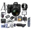 Nikon Z7 Mirrorless Digital Camera with 24-70mm Lens with Supreme Essential Bundle