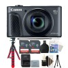 Canon PowerShot SX730 HS Digital Camera (Black) with Accessory Kit