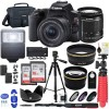 Canon EOS Rebel SL3 DSLR Camera + EF-S 18-55mm Is STM Lens Black | 32GB Bundle