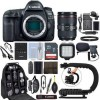 Canon EOS 5D Mark IV DSLR Camera & 24-105mm f/4L II USM Lens+ 64GB Pro Video Kit