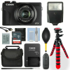 Canon PowerShot G7 X Mark III Digital Camera Black  32GB Deluxe Accessory Package