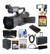 JVC GY-HM200 4KCAM Compact Handheld Camcorder DELUXE STARTER KIT
