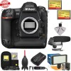 Nikon D5 Digital SLR Camera Body (Dual CF Slots) with Microphone || LED Video Light || GPS Unit || Kit
