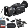 Sony PXW-Z90V 4K HDR XDCAM with Fast Hybrid AF with Professional Microphone Bundle