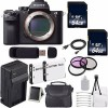 Sony Alpha a7R II Mirrorless Digital Camera   62mm 3 Piece Filter Kit Bundle