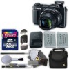 Canon PowerShot G1 X Mark II Digital Camera - Wi-Fi Enabled with 32GB High Speed Memory Card & Extra Battery + Accessory Bundle