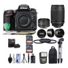 Nikon D750 DSLR Camera Lens Bundle