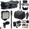 Canon XA30 HD Professional Video Camcorder + Kit with 128GB Memory + More