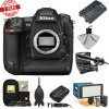 Nikon D5 Digital SLR Camera Body (Dual XQD Slots) with Microphone | LED Video Light | GPS Unit | Kit