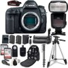 Canon EOS 5D Mark IV Digital SLR Camera Bundle (Body Only) + Professional Accessory Bundle