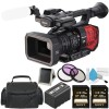 Panasonic AG-DVX200 4K Handheld Camcorder Bundle with 2X 128GB Memory Cards | Carrying Case | More