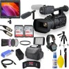 "JVC GY-HC500U Handheld Connected Cam 1"" 4K Professional Camcorder with Field Monitor Mega Bundle"