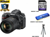 Nikon D750 DSLR Camera with 24-120mm Lens USA W/ 32GB Starter kit
