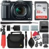 Canon PowerShot G1 X Mark II Digital Camera 5x Optical Zoom + 32GB SD + Spare Battery + Complete Accessory Bundle