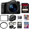 Sony DSC-RX10 III Cyber-shot Digital Still Camera , 64GB Sony Leather Case Kit