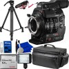 Canon Cinema EOS C300 Mark II Camcorder Body (PL Lens Mount) with Essential Video Starter Bundle